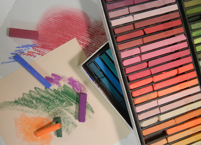 Fun w/Soft pastels class May 4 from 1 to 4 pm taught by Kay Brathol-Hostvet