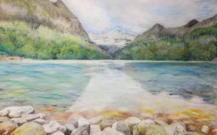 Mountain Lake - Tess Imobersteg