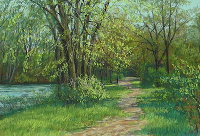 Pastel Expressions class May 11 from 1 to 4 pm taught by Kay Brathol-Hostvet